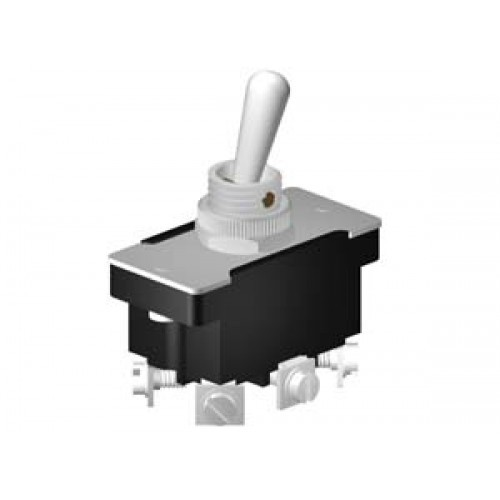 Heavy Duty Toggle Switches 6A DPDT On-On (CE651)