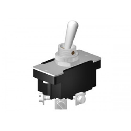 Heavy Duty Toggle Switches 6A DPST On-Off (CE652)