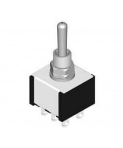 Miniature Toggle Switch DPDT On On 5 A (CE677)