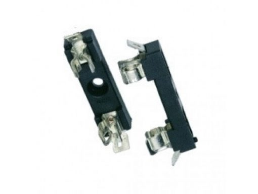 Panel Mount Fuse Holder for 5 x 20 mm glass fuse.