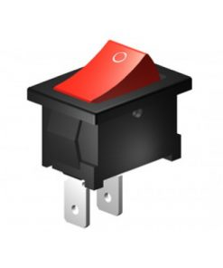 Rocker Switch 4A SPST Momentary Off (CE309)