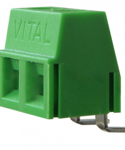 Series 58RA/2 - 2 Way Screw Type Right Angle Mounting Connector in 5.08 mm Pitch