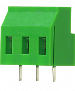 Series 75/3 - 3 Way Screw Type Connector in 7.50 mm Pitch and 18.00 mm Height