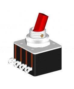 Toggle Switch 5A DPST (CE624 )