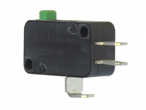 VMS-L-D3 (Basic Snap Action Microswitch with Solderable Terminal - 300 to 350 gram Operating force)