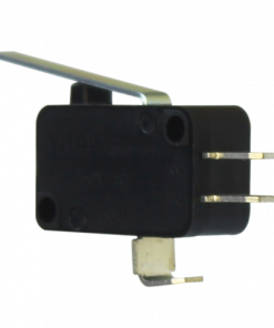 VMS-L-ML2-D3 (Plain Lever Microswitch with Solderable Terminal - 300 to 350 gram Operating force)