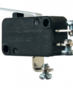 VMS-S-ML2-D3 (Plain Lever Microswitch with Screw Terminal - 300 to 350 gram Operating force)
